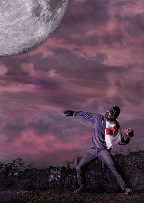Hurling Rubble at the Moon - Poster Image